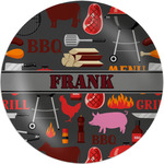 Barbeque Melamine Plate (Personalized)