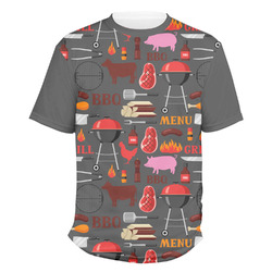 Barbeque Men's Crew T-Shirt (Personalized)