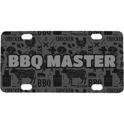 Barbeque Mini / Bicycle License Plate (Personalized)