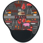 Barbeque Mouse Pad with Wrist Support