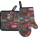 Barbeque Oven Mitt & Pot Holder (Personalized)