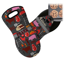 Barbeque Neoprene Oven Mitt (Personalized)