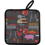 Barbeque Pot Holder w/ Name or Text