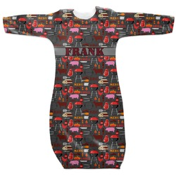 Barbeque Newborn Gown (Personalized)