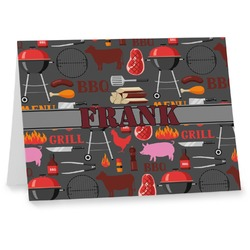 Barbeque Notecards (Personalized)