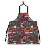 Barbeque Apron Without Pockets w/ Name or Text