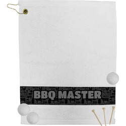 Barbeque Golf Towel (Personalized)