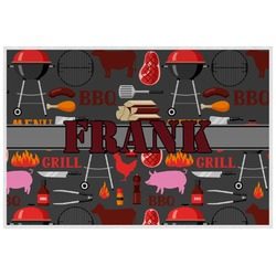Barbeque Placemat (Laminated) (Personalized)