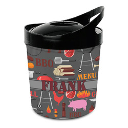 Barbeque Plastic Ice Bucket (Personalized)