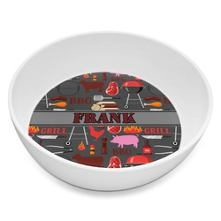 Barbeque Melamine Bowl 8oz (Personalized)
