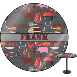 Barbeque Round Table (Personalized)