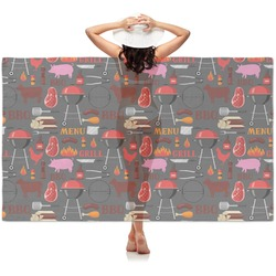 Barbeque Sheer Sarong (Personalized)