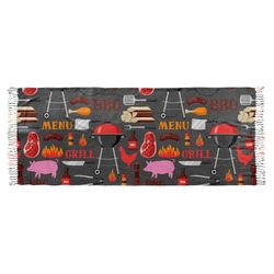 Barbeque Faux Pashmina Scarf (Personalized)