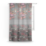 Barbeque Sheer Curtains (Personalized)