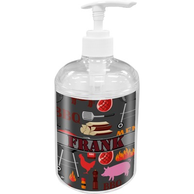 Barbeque Acrylic Soap & Lotion Bottle (Personalized)