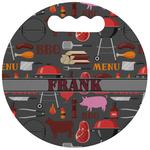 Barbeque Stadium Cushion (Round) (Personalized)