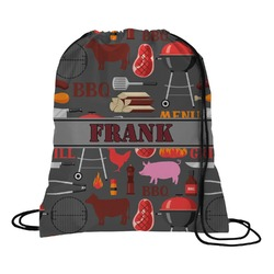 Barbeque Drawstring Backpack (Personalized)
