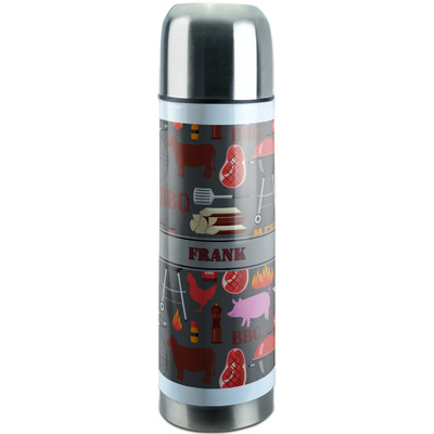 Barbeque Stainless Steel Thermos (Personalized)