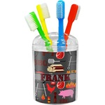 Barbeque Toothbrush Holder (Personalized)