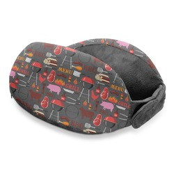 Barbeque Travel Neck Pillow (Personalized)