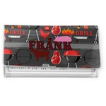 Barbeque Vinyl Checkbook Cover (Personalized)