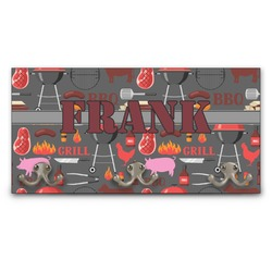 Barbeque Wall Mounted Coat Rack (Personalized)