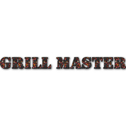 Barbeque Name/Text Decal - Custom Sizes (Personalized)
