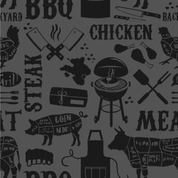 """Barbeque Wallpaper & Surface Covering (Peel & Stick 24""""x 24"""" Sample)"""