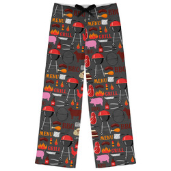 Barbeque Womens Pajama Pants (Personalized)