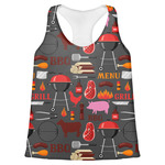 Barbeque Womens Racerback Tank Top (Personalized)