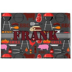 Barbeque Woven Mat (Personalized)