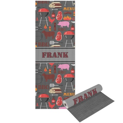 Barbeque Yoga Mat - Printable Front and Back (Personalized)