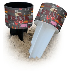 Barbeque Beach Spiker Drink Holder (Personalized)