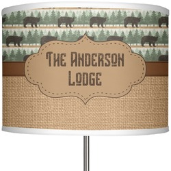 "Cabin 13"" Drum Lamp Shade (Personalized)"