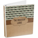 Cabin 3-Ring Binder (Personalized)