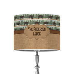 """Cabin 8"""" Drum Lamp Shade - Poly-film (Personalized)"""
