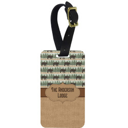 Cabin Aluminum Luggage Tag (Personalized)