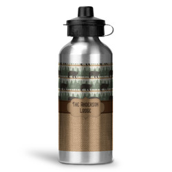 Cabin Water Bottle - Aluminum - 20 oz (Personalized)