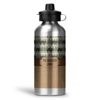 Cabin Water Bottle - Aluminum - 20 oz (Personalized)