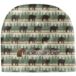 Cabin Baby Hat (Beanie) (Personalized)