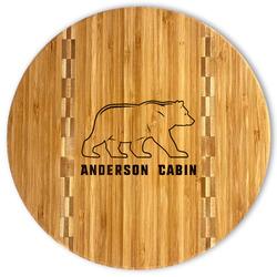 Cabin Bamboo Cutting Board (Personalized)