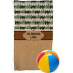 Cabin Beach Towel (Personalized)