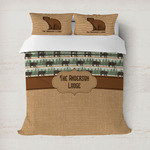 Cabin Duvet Cover (Personalized)