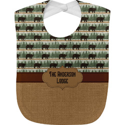 Cabin Baby Bib (Personalized)