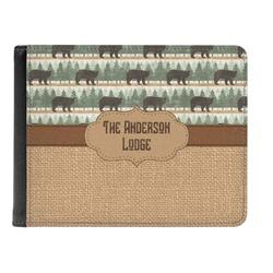 Cabin Genuine Leather Men's Bi-fold Wallet (Personalized)
