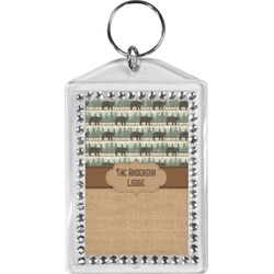 Cabin Bling Keychain (Personalized)
