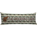 Cabin Body Pillow Case (Personalized)