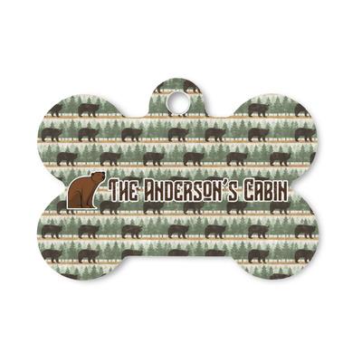Cabin Bone Shaped Dog Tag (Personalized)