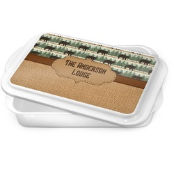 Cabin Cake Pan (Personalized)