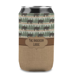 Cabin Can Sleeve (12 oz) (Personalized)
